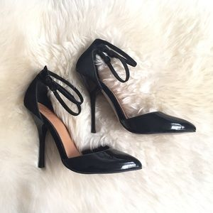ASOS Double Ankle Strap Heels